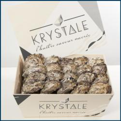 Huîtres creuses La Krystale...